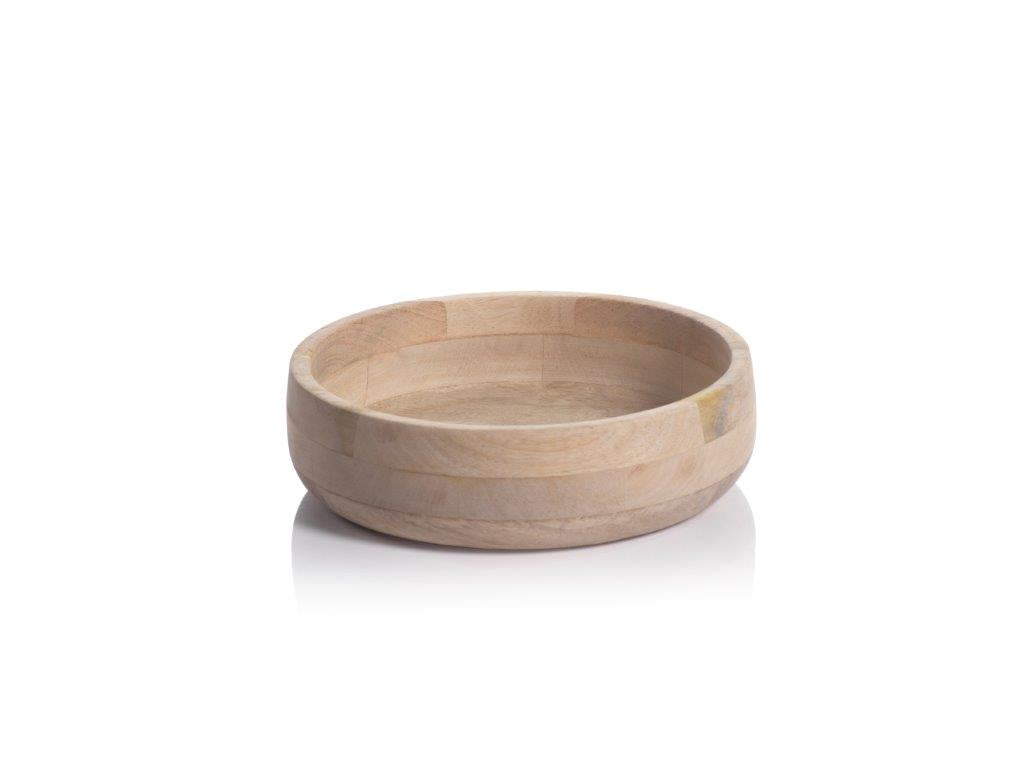 Tokima Natural Mango Wood Bowl - CARLYLE AVENUE