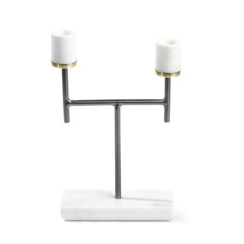 Turin Marble Taper Holder