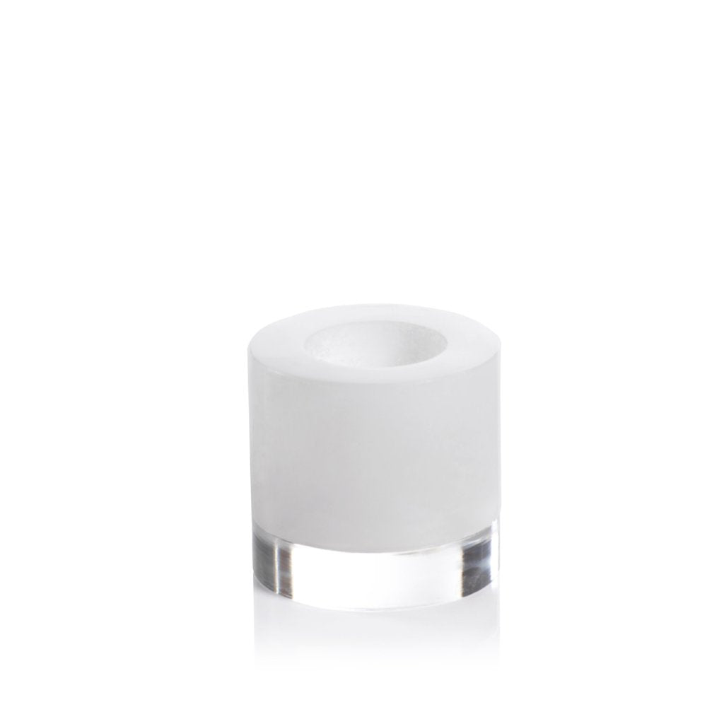 Taj Alabaster Tealight Holder - CARLYLE AVENUE