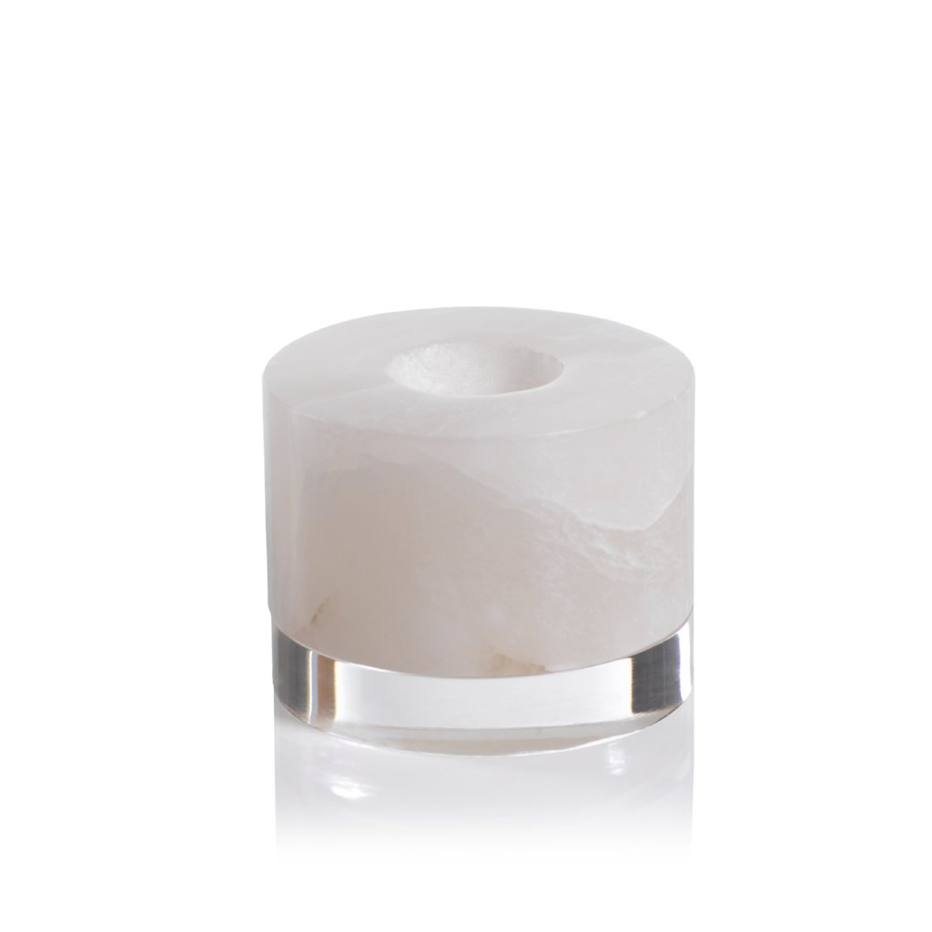 Taj Alabaster Tealight Holder