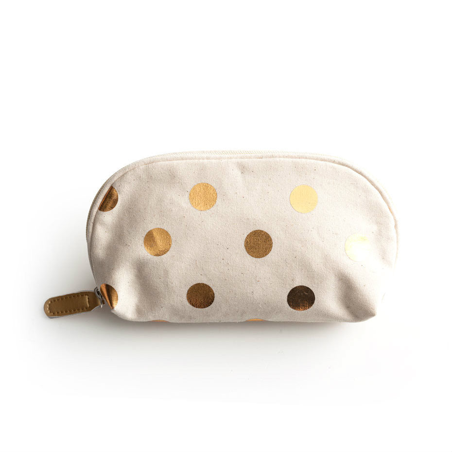 Jetsetter Cosmetic Bag - Dots -  - CARLYLE AVENUE