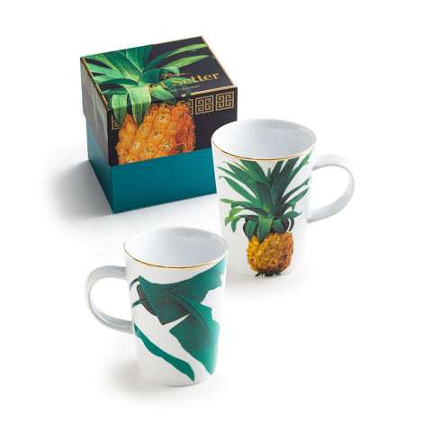 Jetsetter Botanical Pineapple Mug