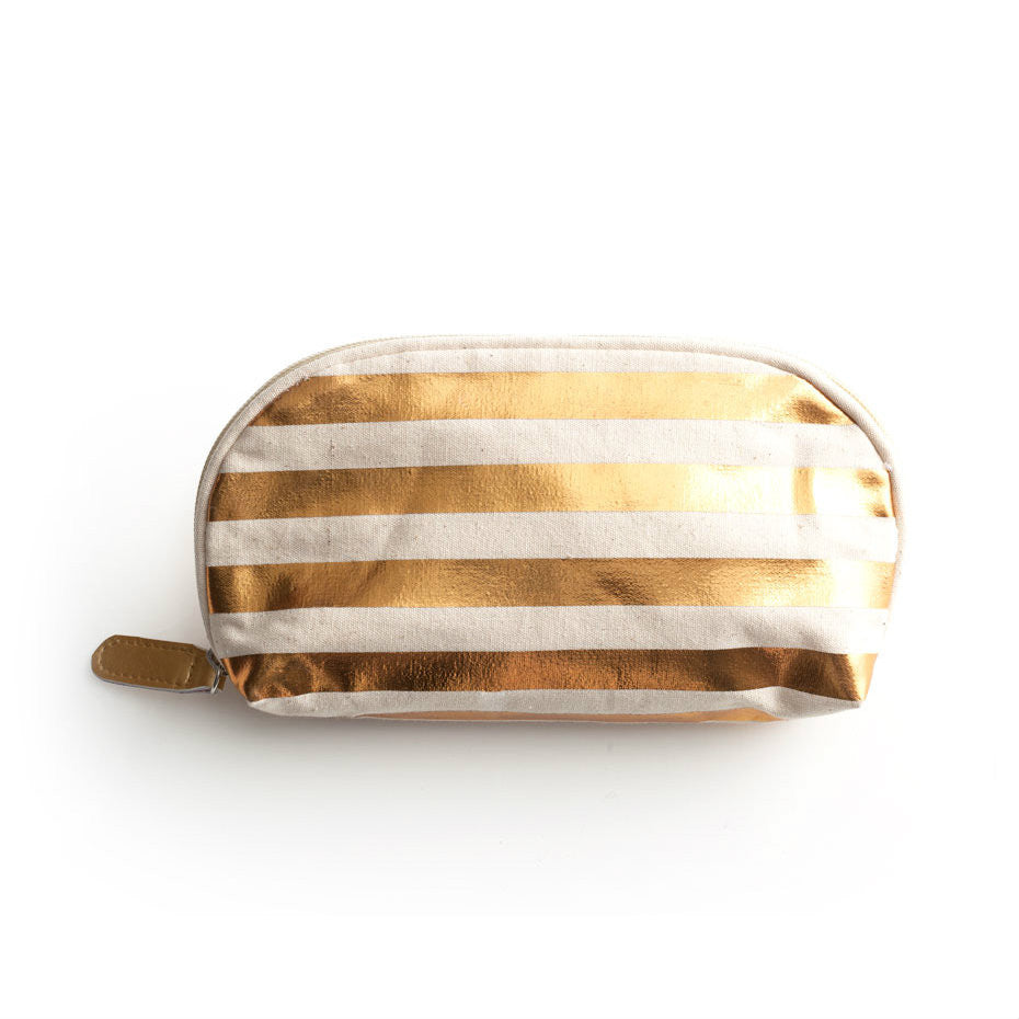 Jetsetter Cosmetic Bag - Stripes -  - CARLYLE AVENUE
