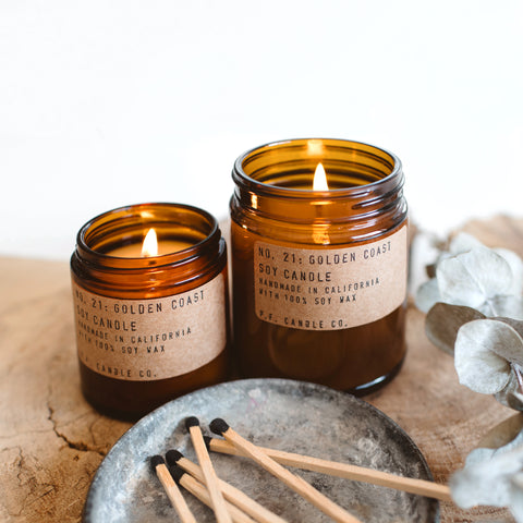 P.F. Candle Co Soy Candle Golden Coast