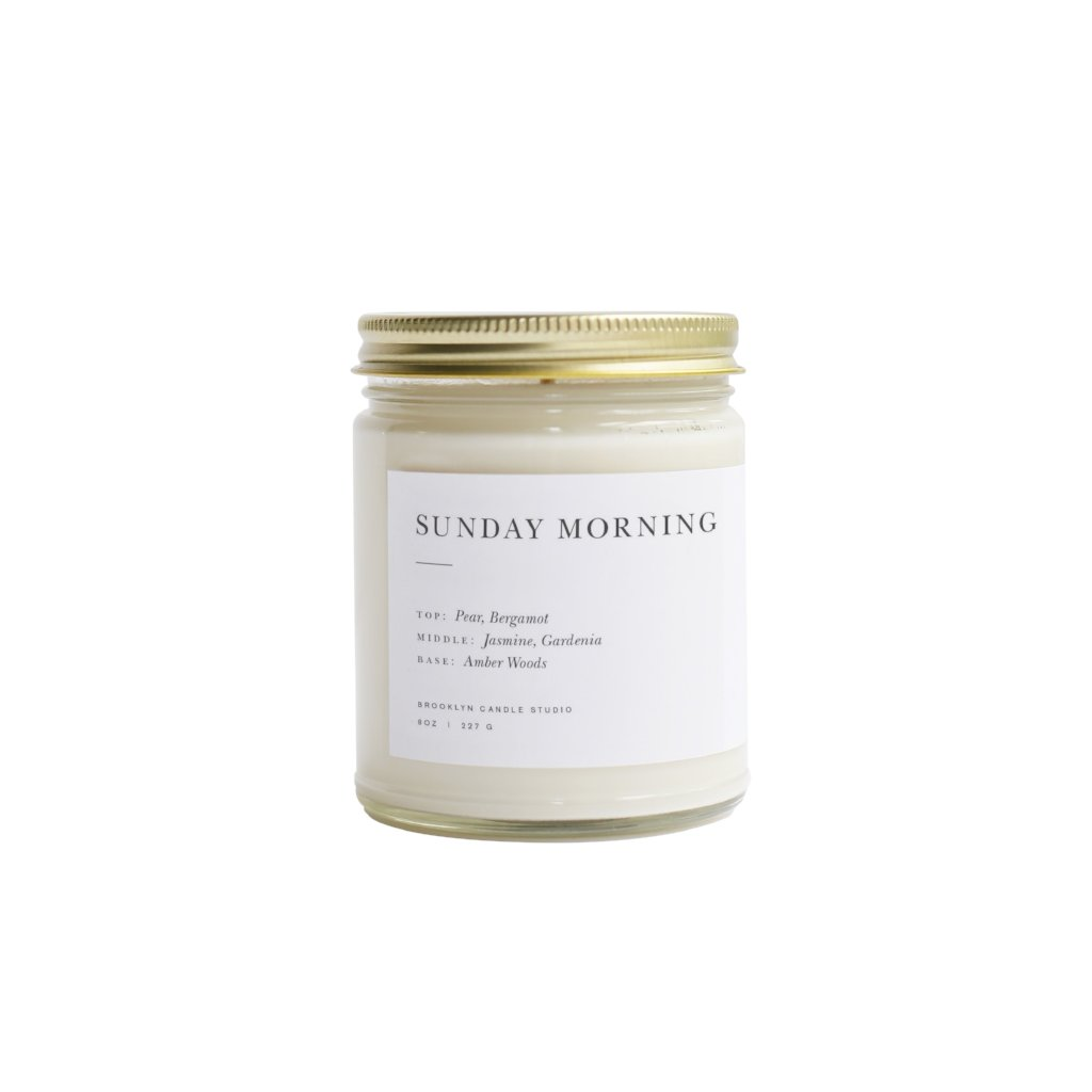 Brooklyn Candle Studio Minimalist Jar Candles - CARLYLE AVENUE