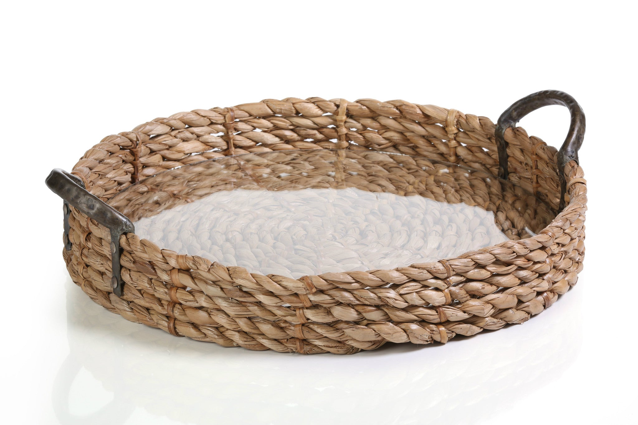 Seagrass Rolled Tray -  - CARLYLE AVENUE - 1