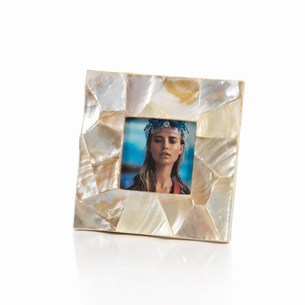 Kabibe Shell Photo Frame