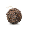 Flower Cut Pine Cone Ball Ornament