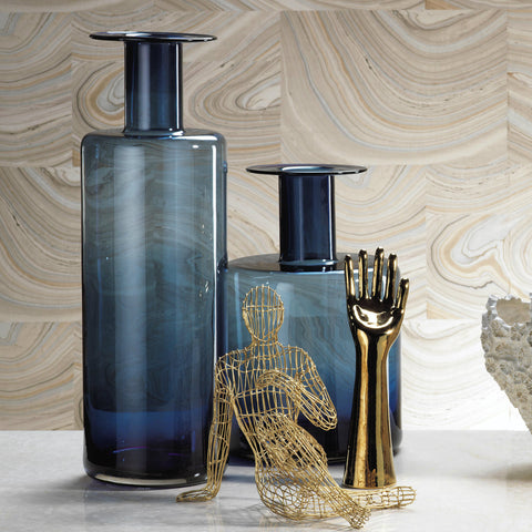 La Sardaigne Midnight Blue Vase