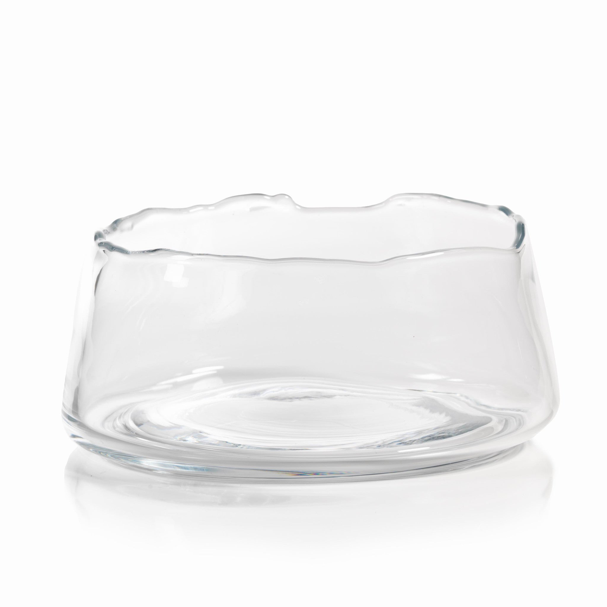 Manarola Glass Bowl - Clear - CARLYLE AVENUE