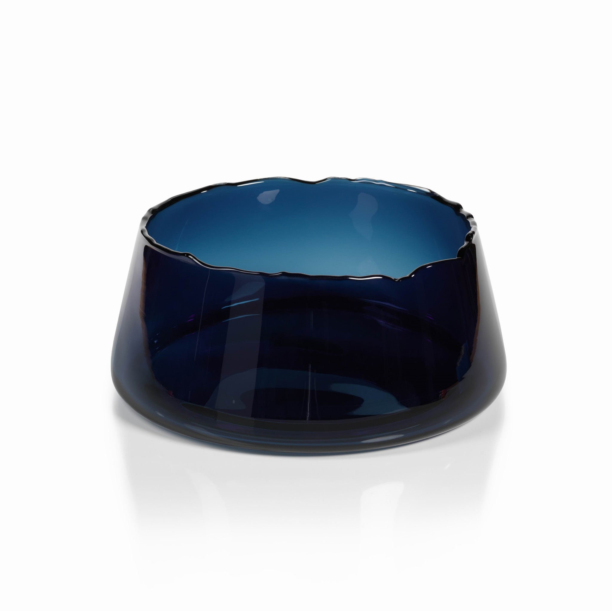 Manarola Glass Bowl - Midnight Blue -  - CARLYLE AVENUE - 1