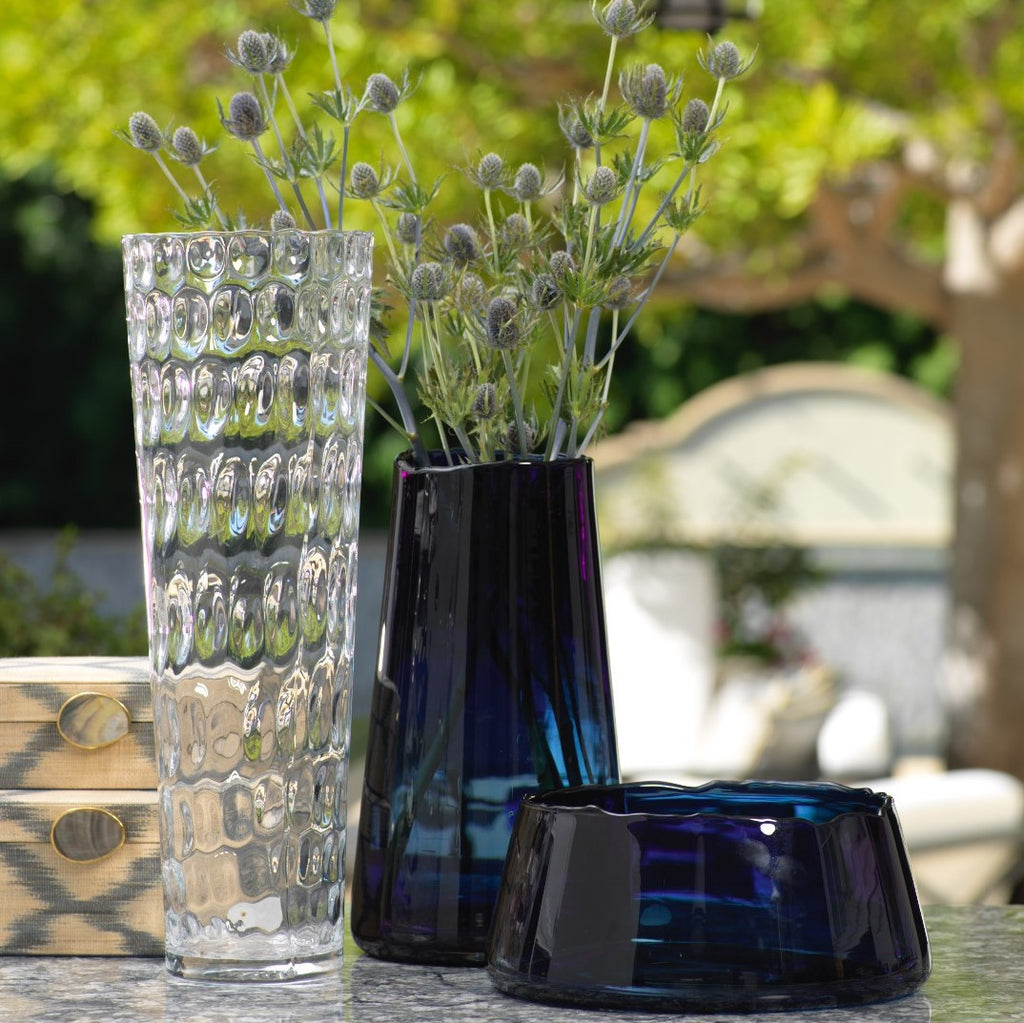 Ravello Tapered Glass Vase -  - CARLYLE AVENUE - 2