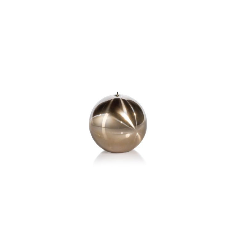 Titanium Ball Candle - Gold