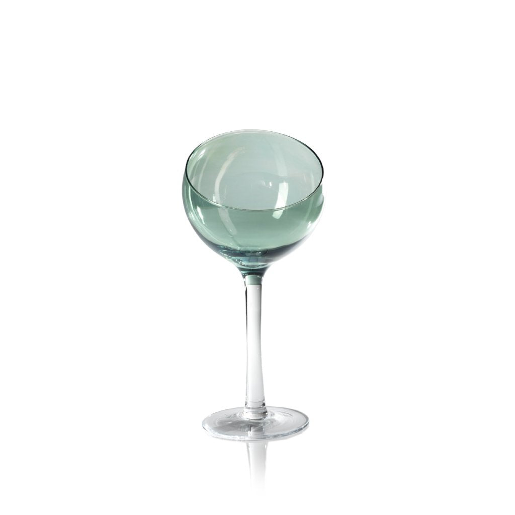 Ball Glass on Stem - 4 Colors - CARLYLE AVENUE