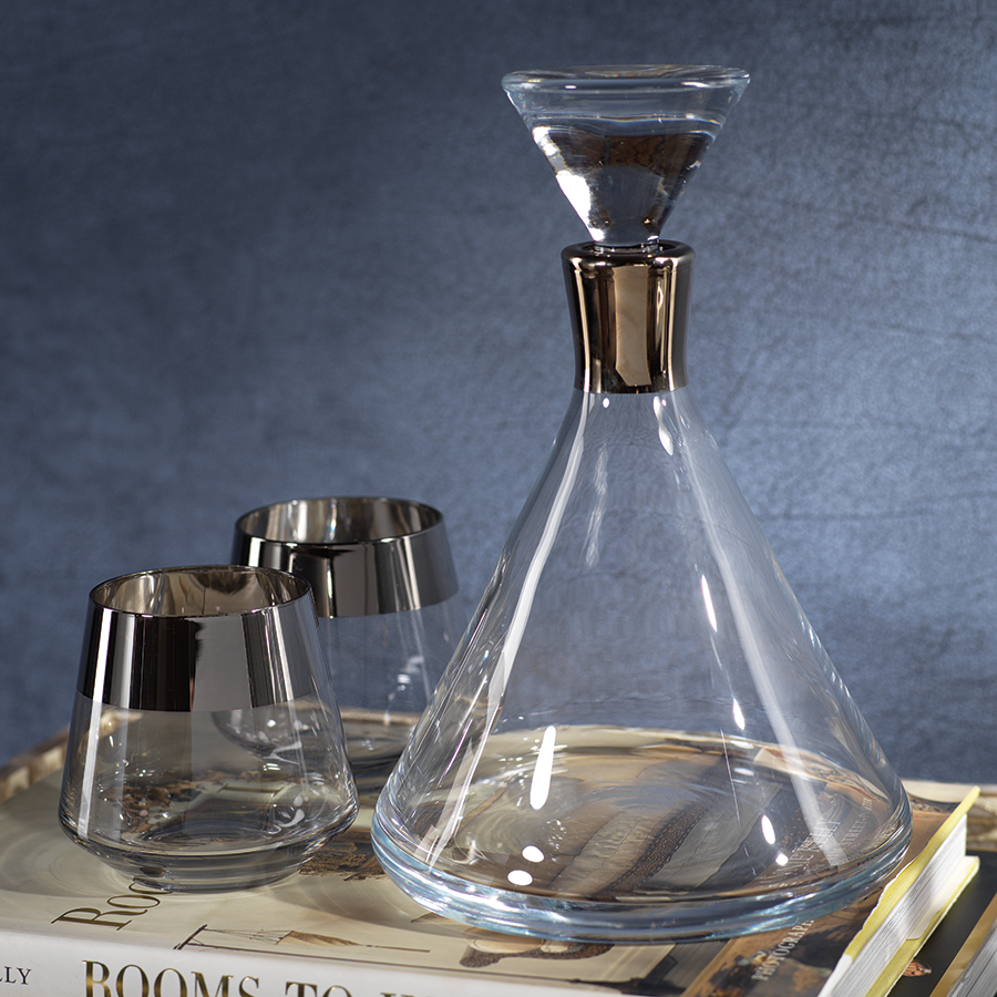Sultan Decanter w/ Stopper