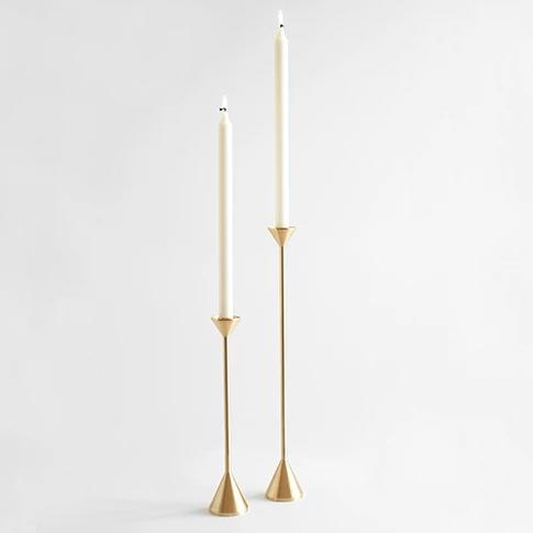 Cone Spindle Candle Holder - CARLYLE AVENUE
