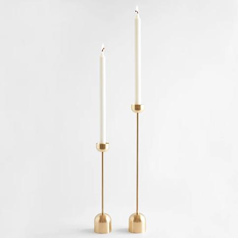 Dome Spindle Candle Holder - CARLYLE AVENUE