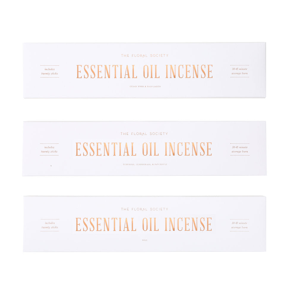 Essential Oil Incense - CARLYLE AVENUE