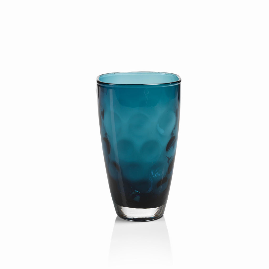Dimpled Glass Collection - Midnight Blue / Highball - Set of 6 - CARLYLE AVENUE - 2