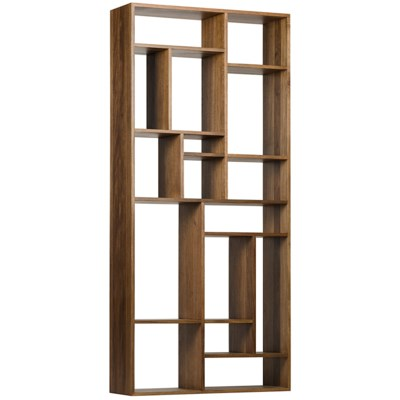 Walnut Tall Bookcase - CARLYLE AVENUE