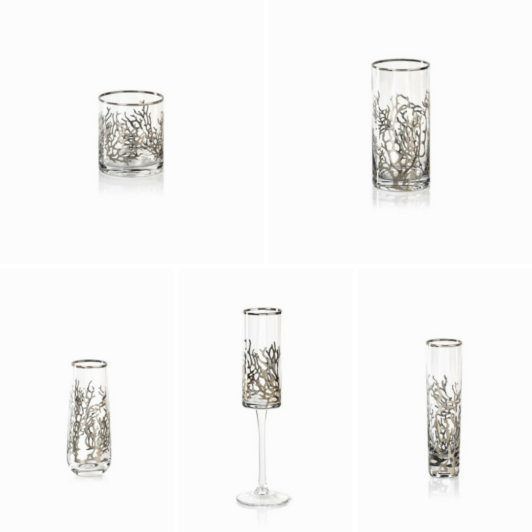West Bay Coral Drinkware Collection