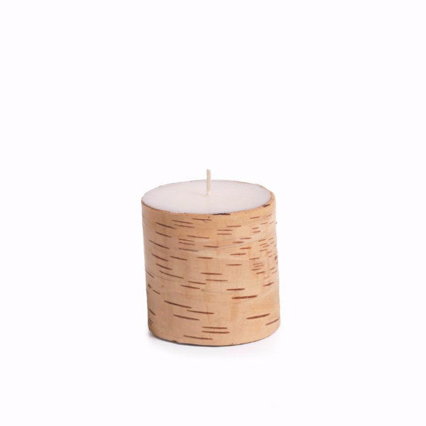 Birchwood Scented Pillar Candles - Set of 4