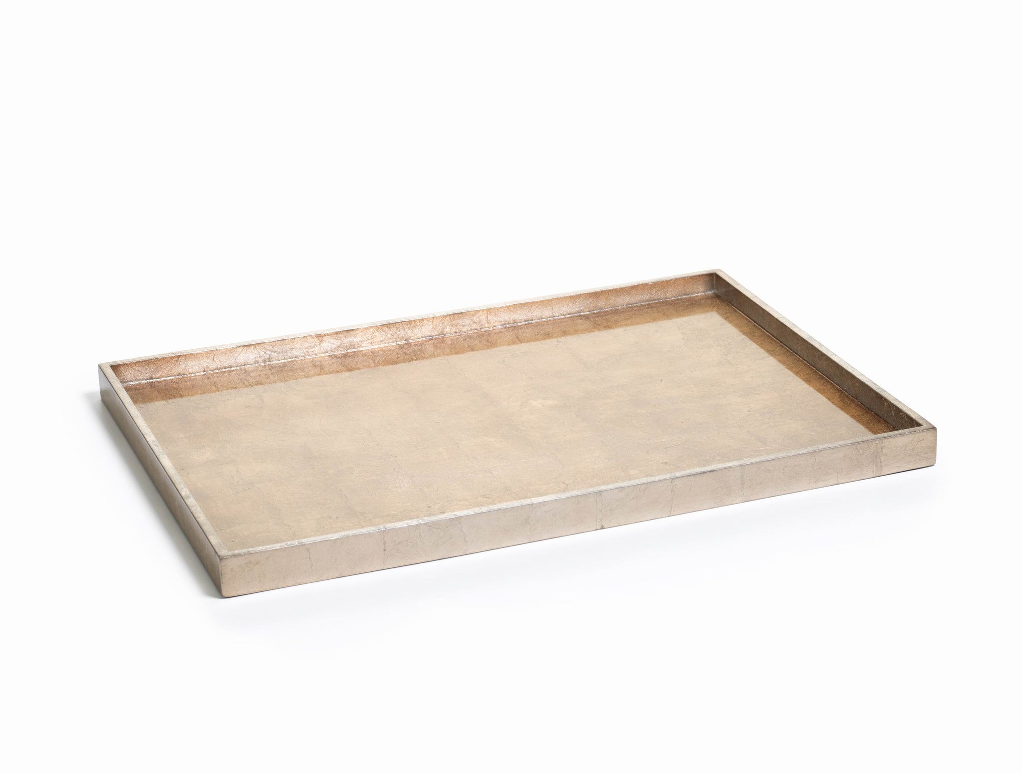 Antique Gold & Silver Serving Tray - CARLYLE AVENUE