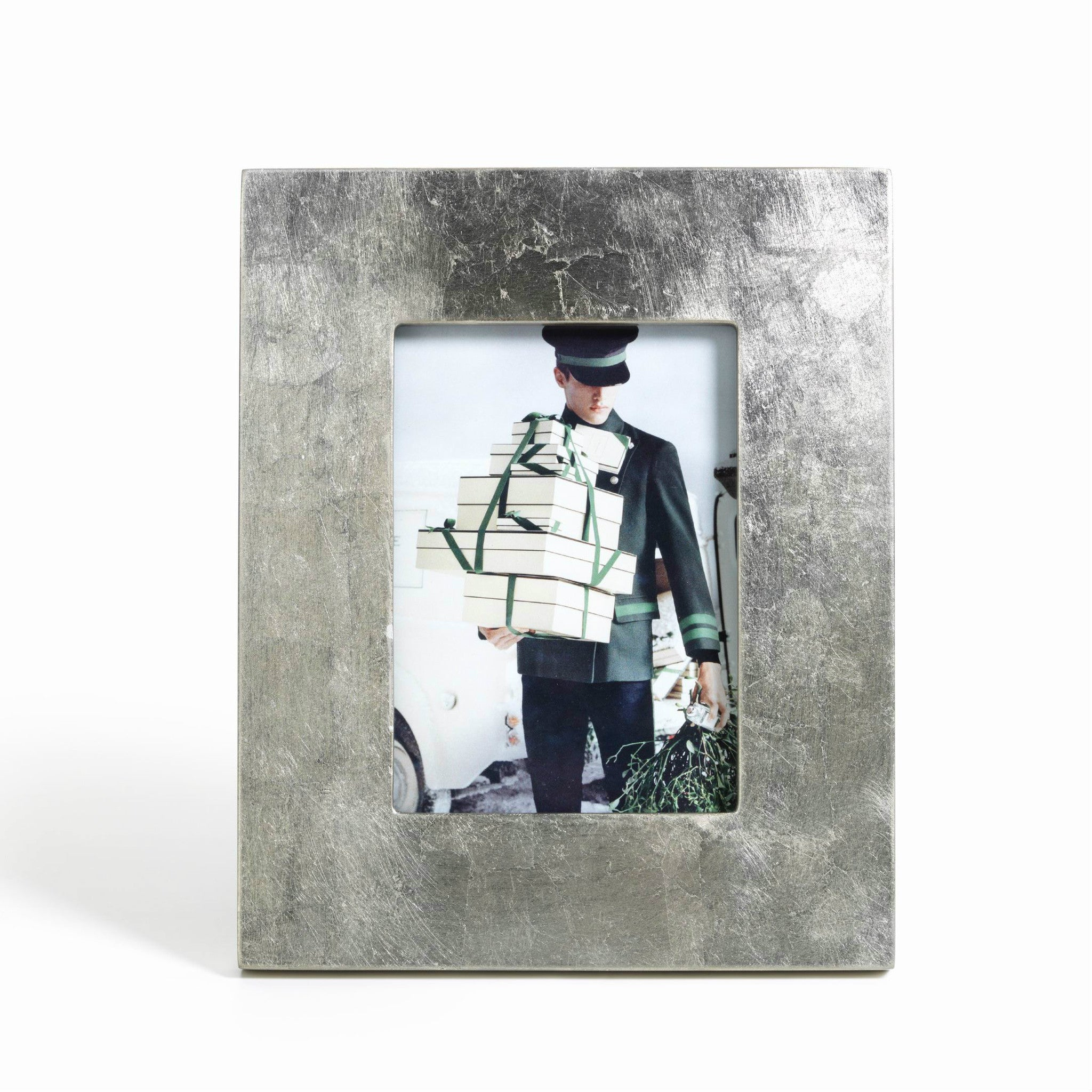 Silver Leaf Photo Frames - CARLYLE AVENUE