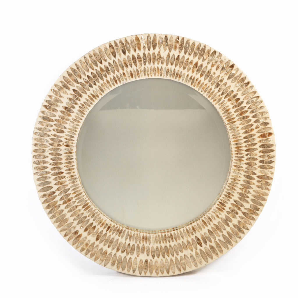 Santa Cruz Capiz Shell Wall Mirror -  - CARLYLE AVENUE
