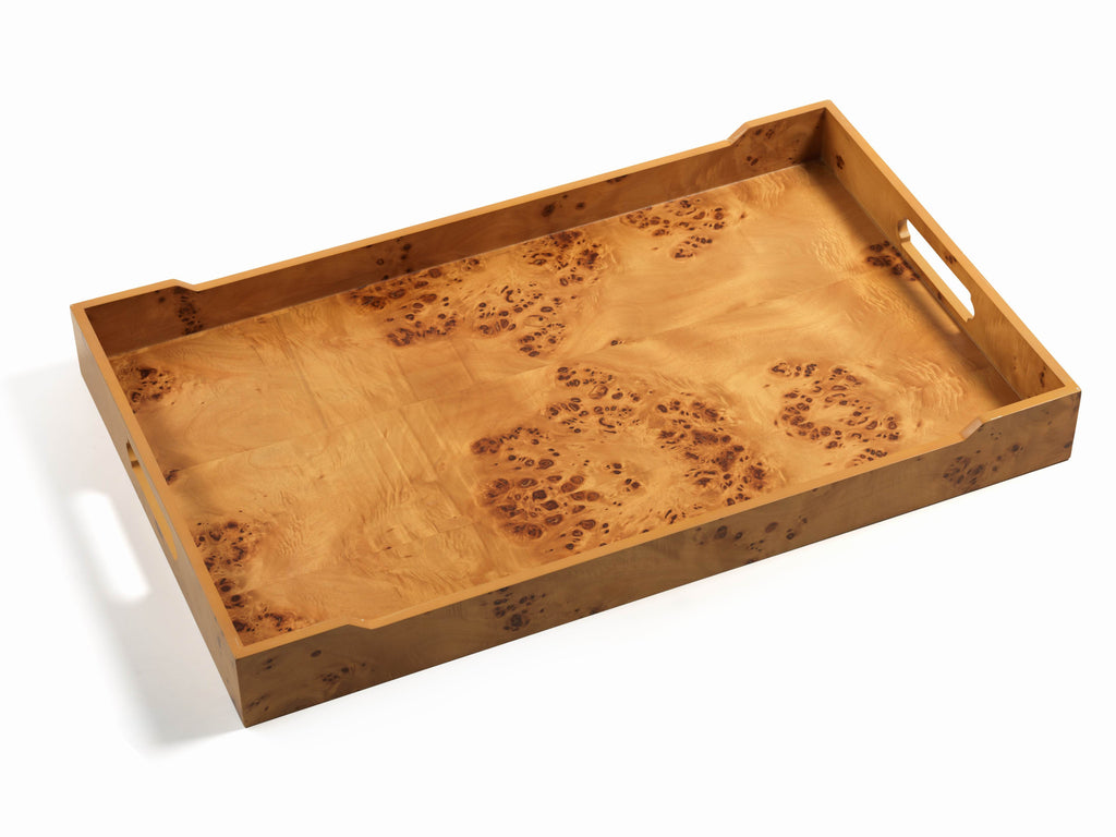 Burlwood Bar Tray - X-Large - CARLYLE AVENUE - 2