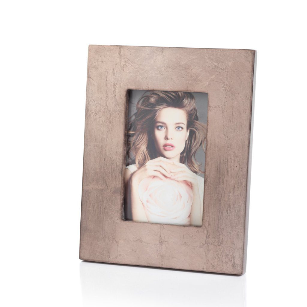 Antique Rose Gold Leaf Photo Frame - CARLYLE AVENUE