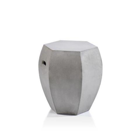 Torino Hexagon Concrete Stool