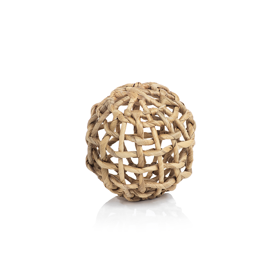 Water Hyacinth Twisted Fill Ball - CARLYLE AVENUE