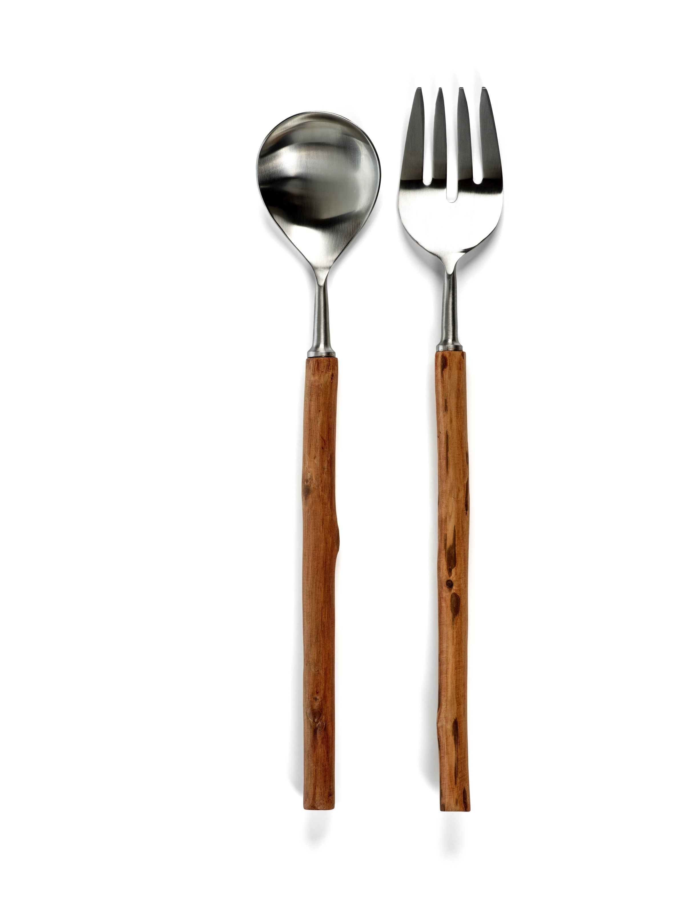 Rosewood Set of Salad Servers - CARLYLE AVENUE