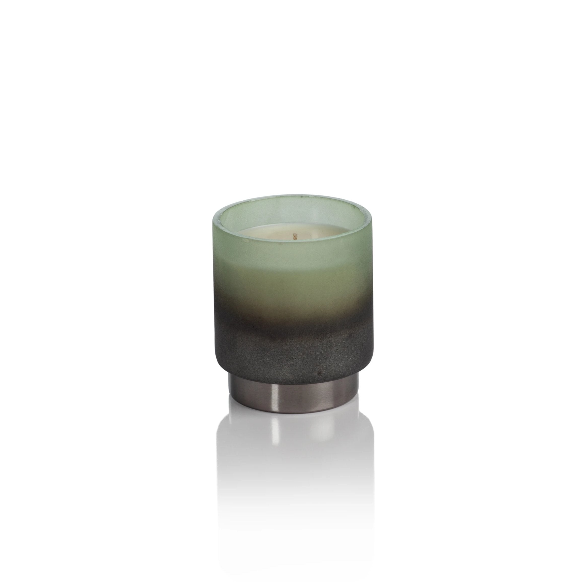 Cortina Scented Candle Jar - Green - CARLYLE AVENUE