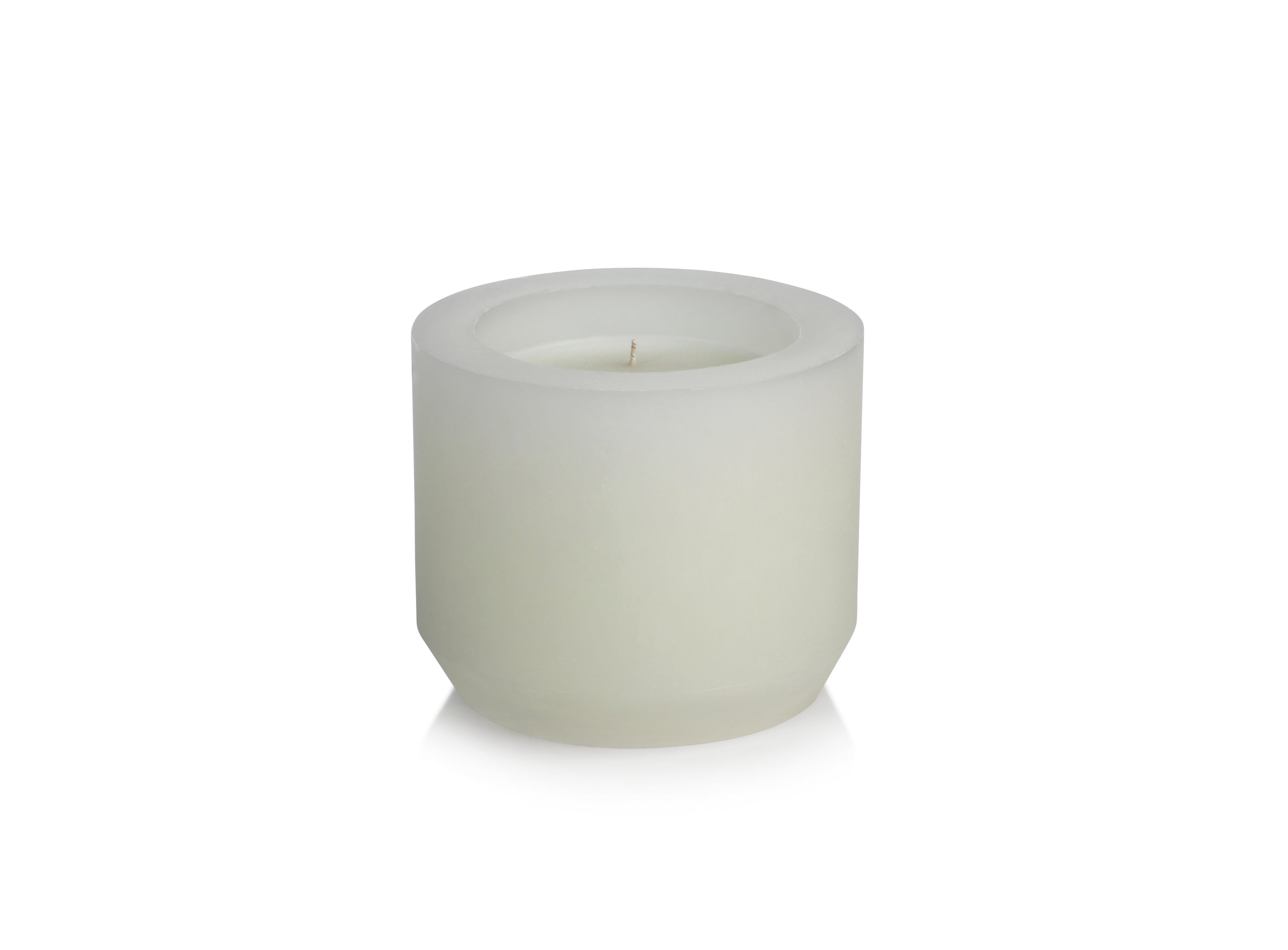 Naousa Bay Candle - White - CARLYLE AVENUE
