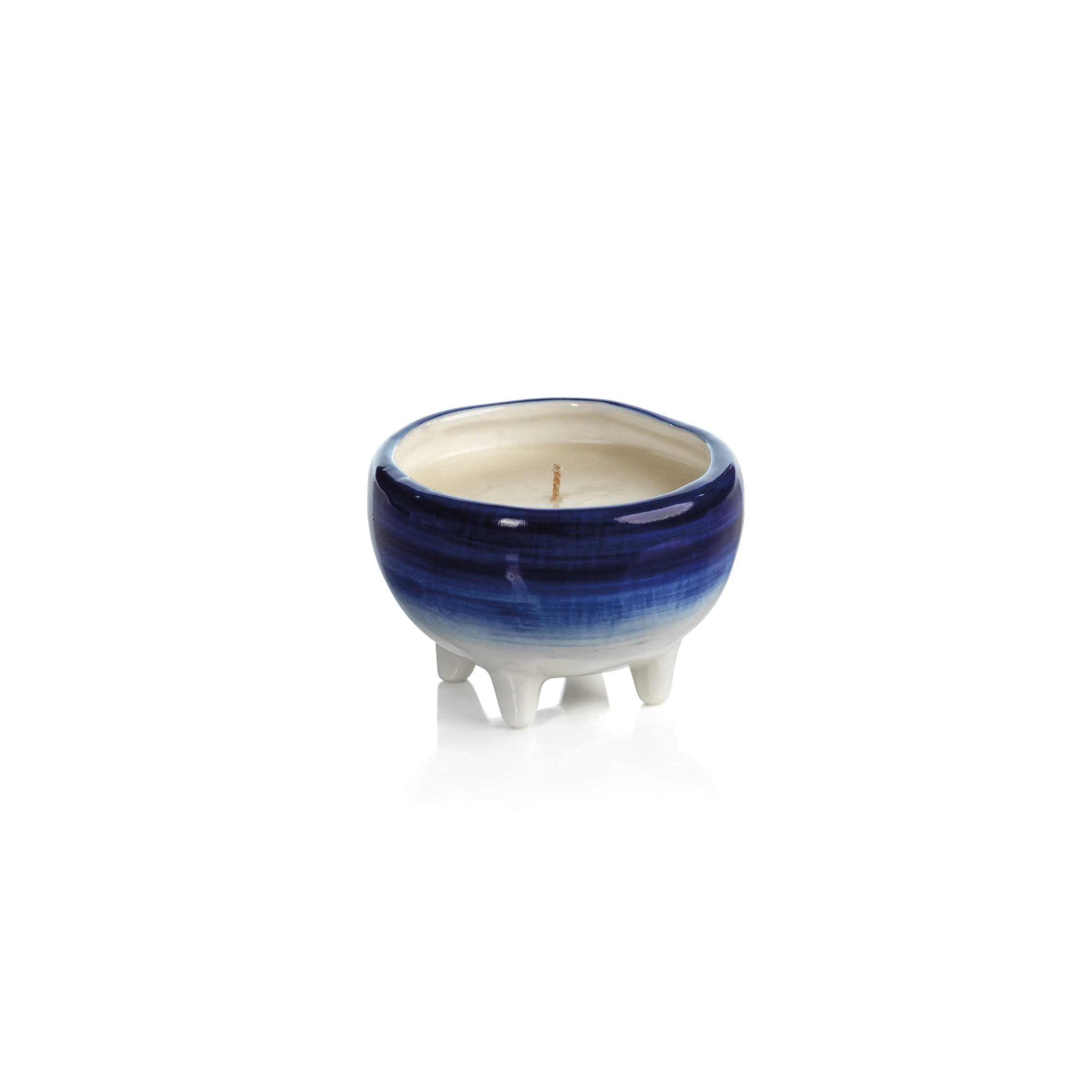 Blue Lagoon Candle - Blue Ombre - CARLYLE AVENUE