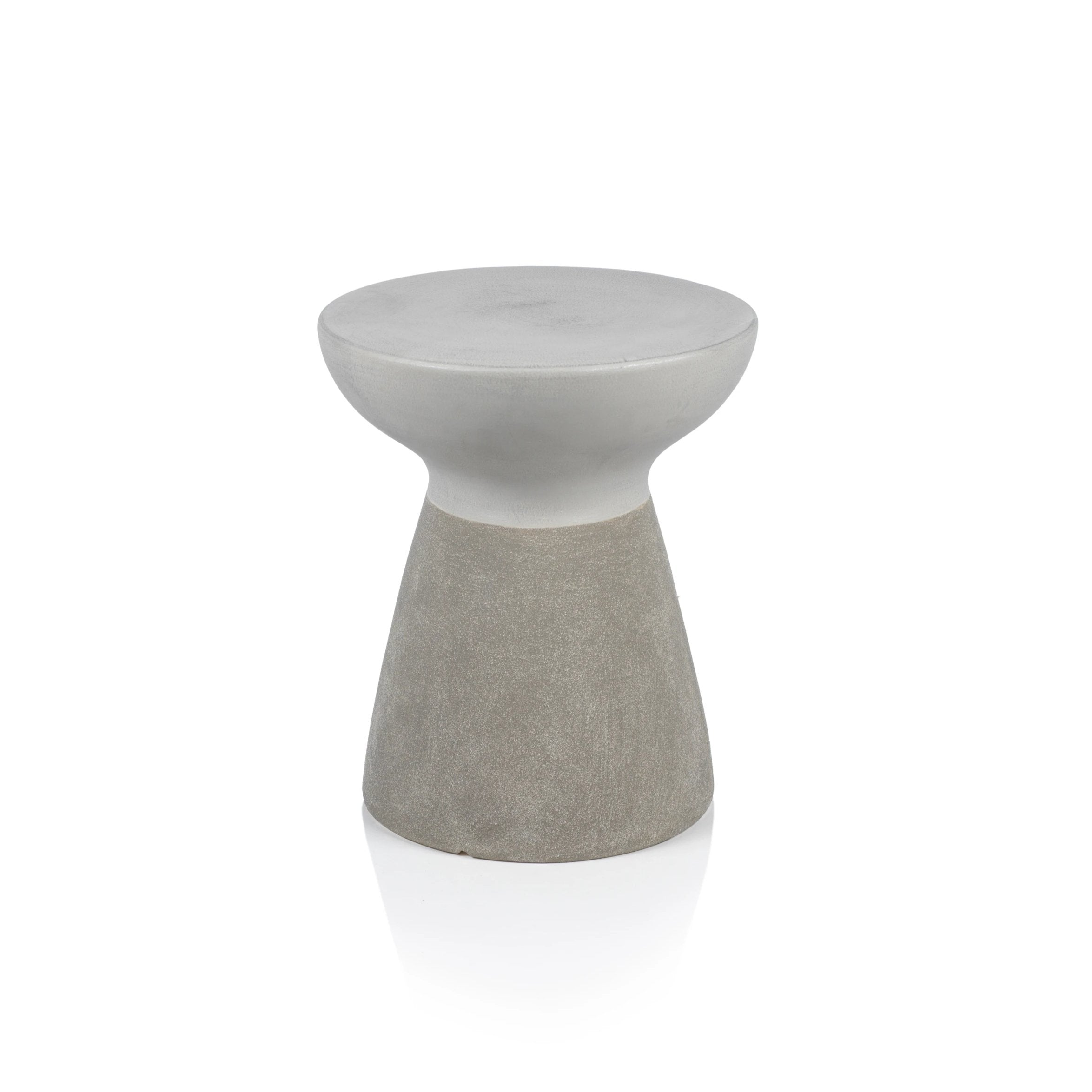 Pablo Earthenware Two Tone Stool - CARLYLE AVENUE