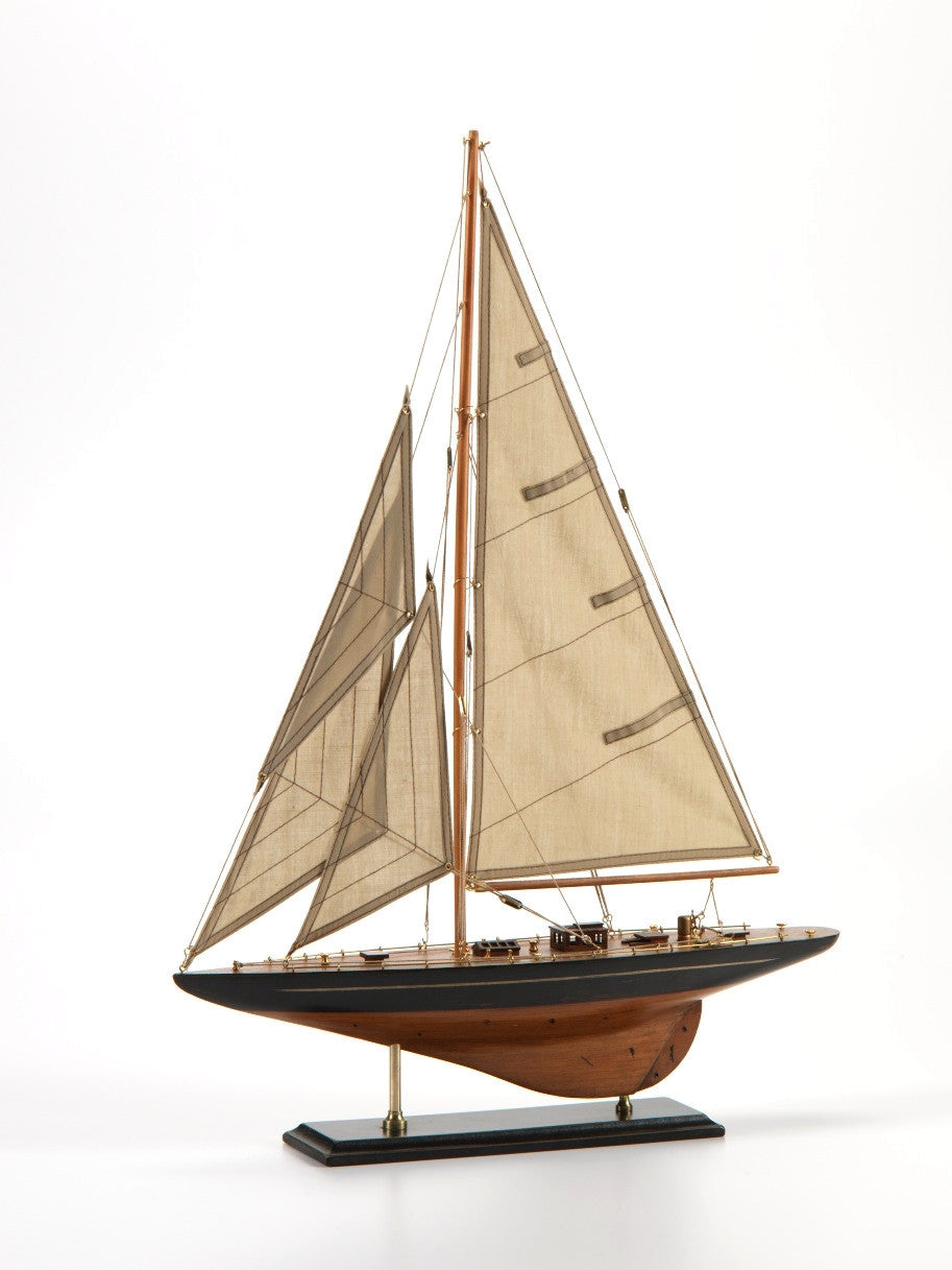 Small Wooden Model Sailboat -  - CARLYLE AVENUE - 2