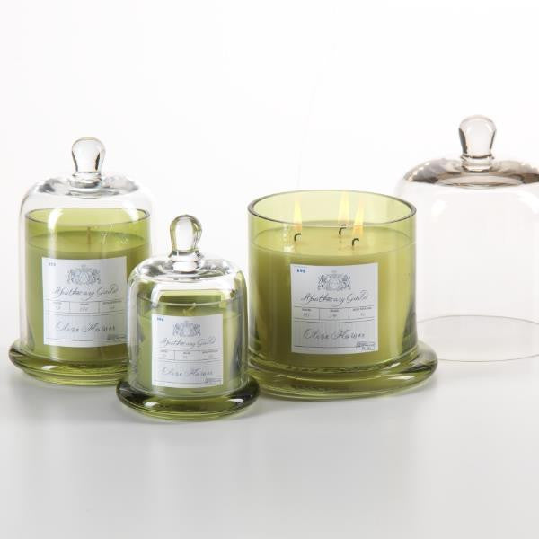 Apothecary Guild Domed Candle - Olive Flower - CARLYLE AVENUE