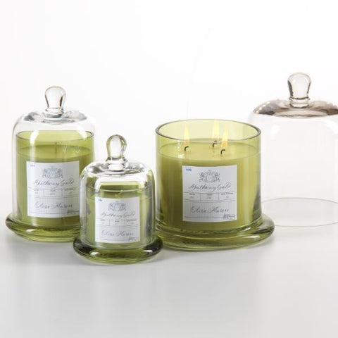Apothecary Guild Domed Candle - Olive Flower