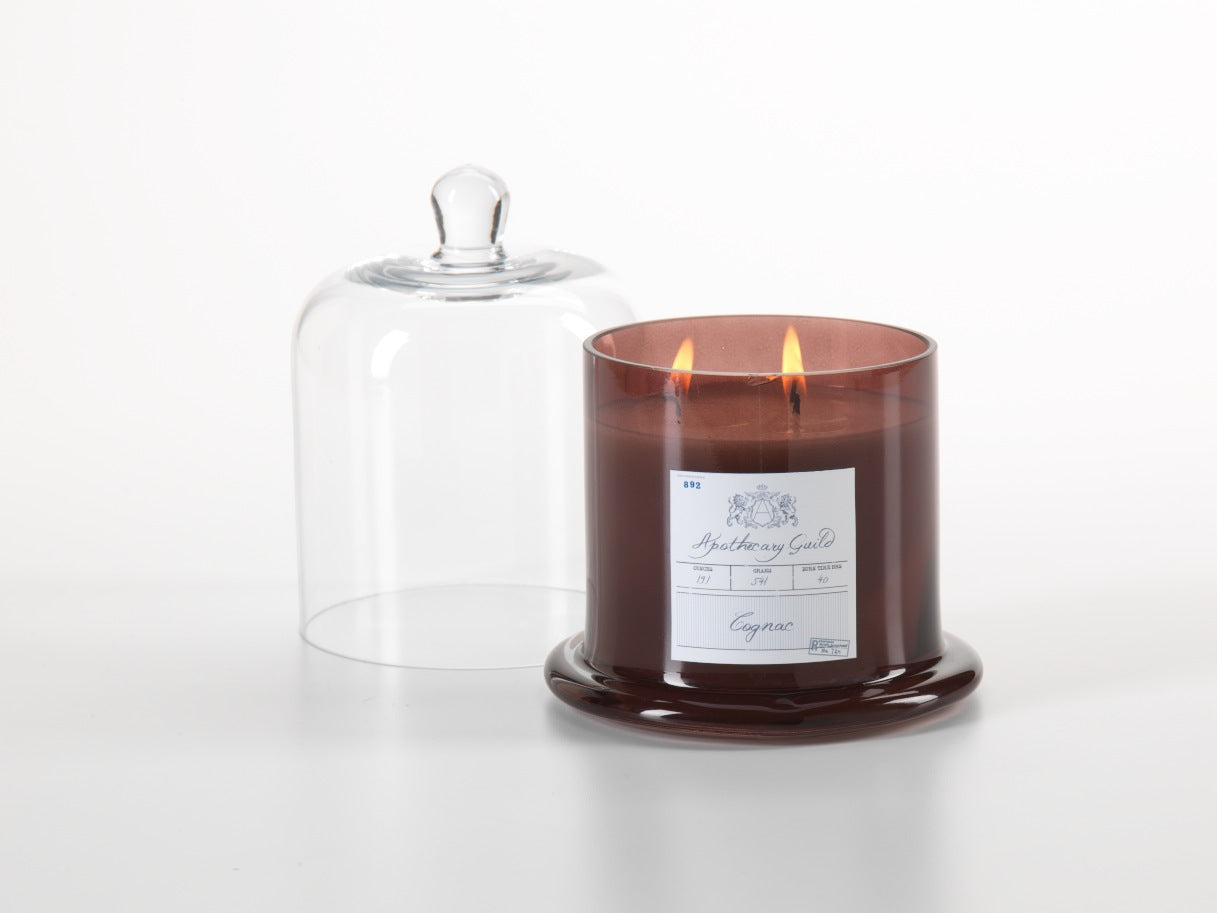 Apothecary Guild Domed Candle - Brown - CARLYLE AVENUE