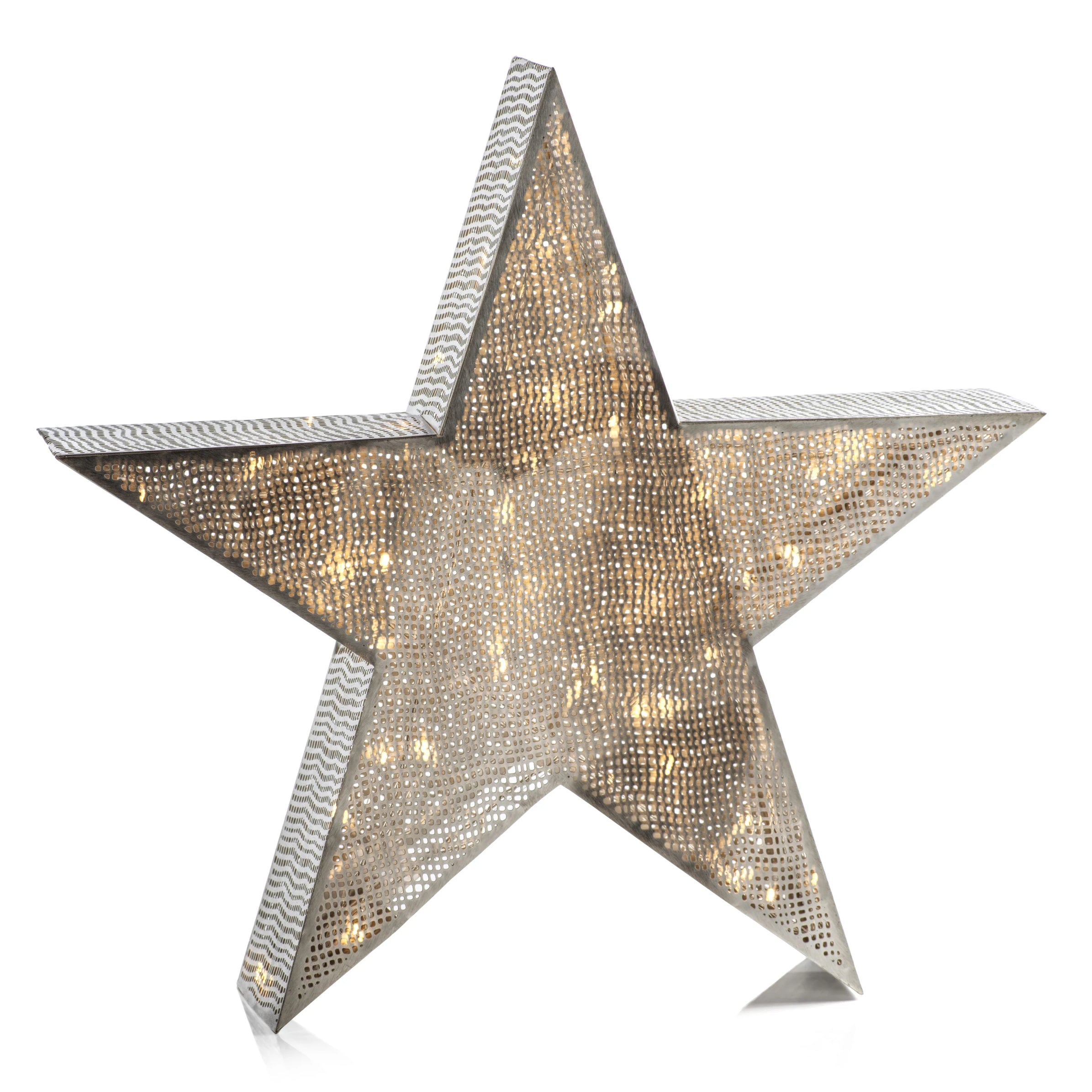 LED Tabletop Metal Star Lamp - CARLYLE AVENUE