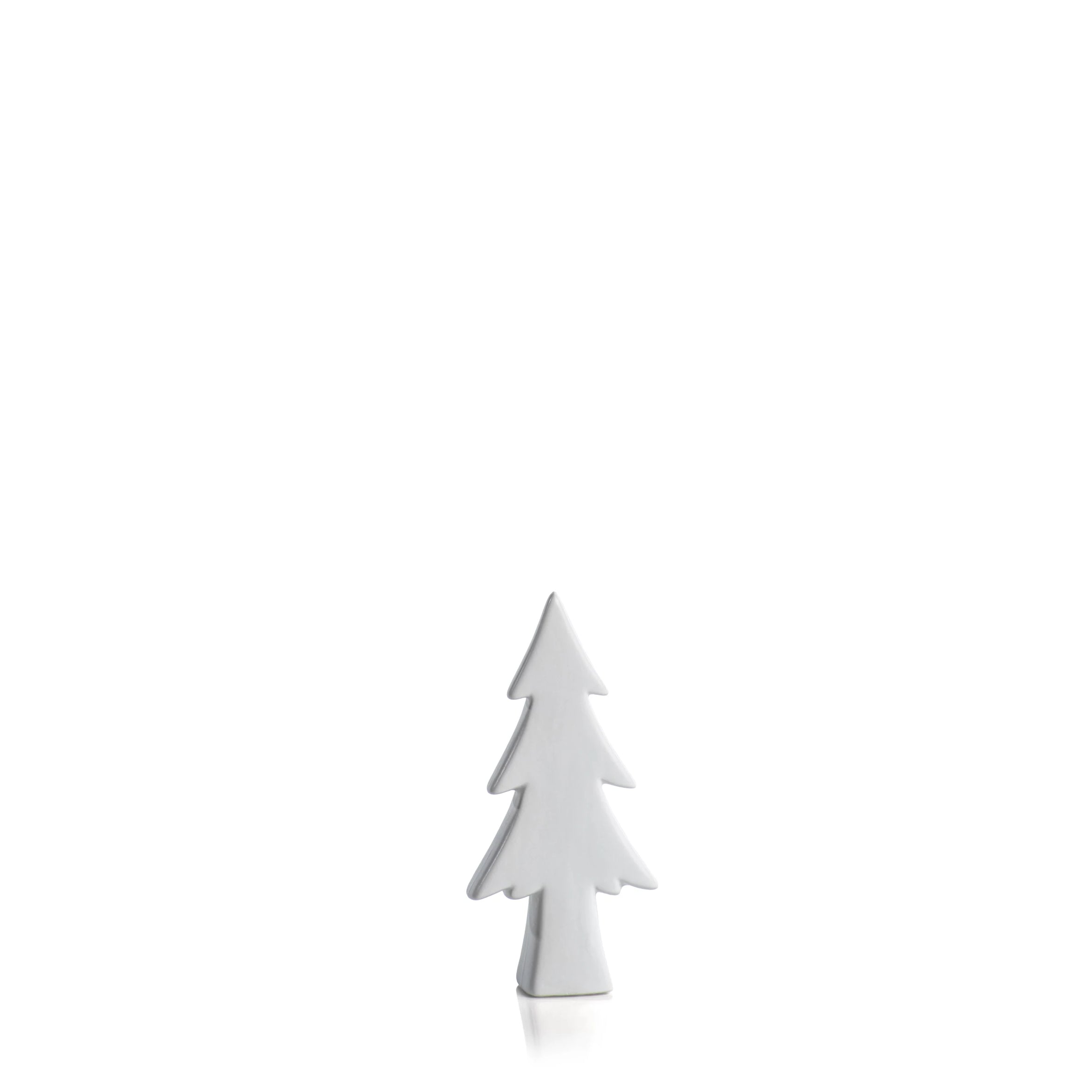 Matt White Decorative Tree - CARLYLE AVENUE