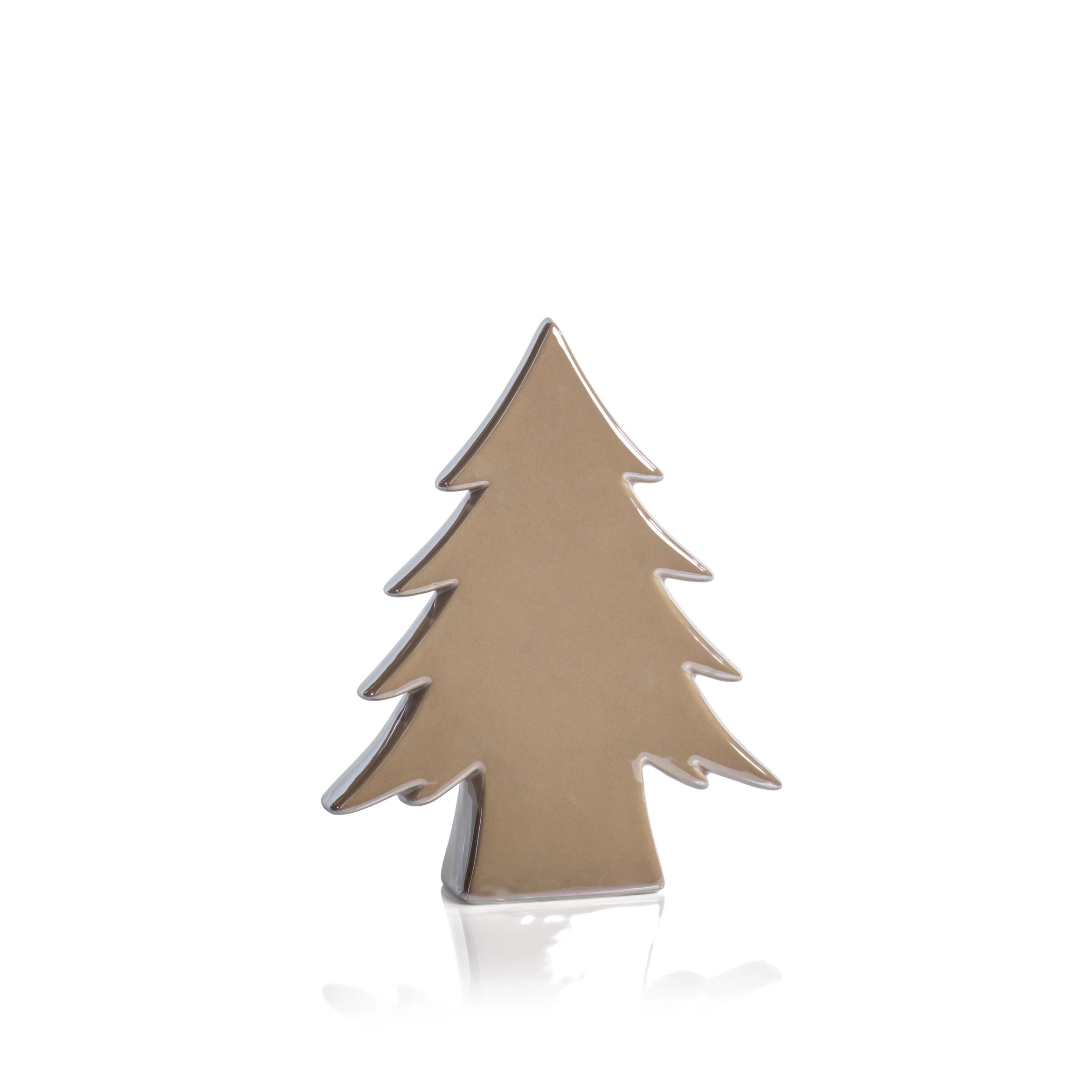 Teton Pearl Cream Ceramic Tree