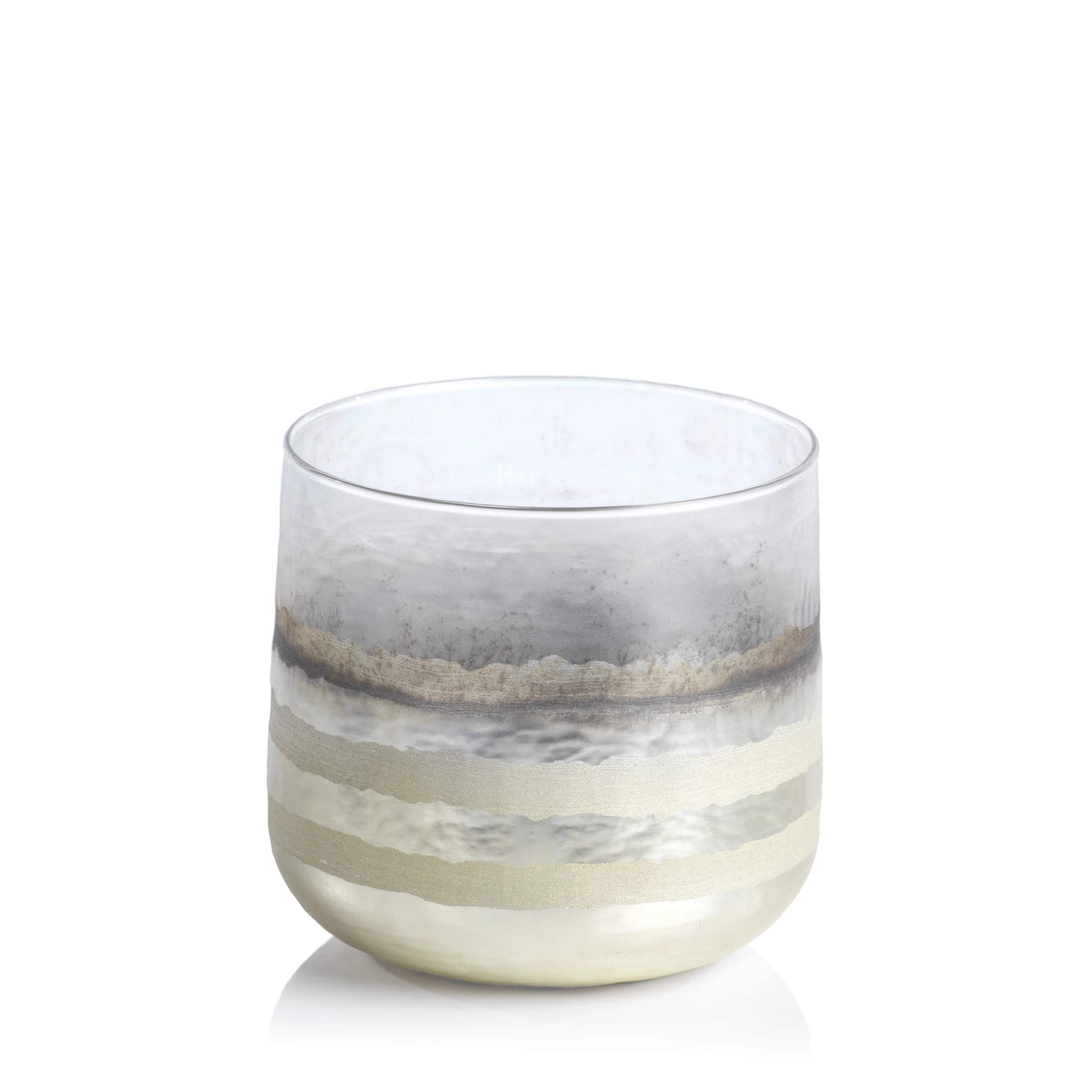 White Smoke Votive Holder - CARLYLE AVENUE