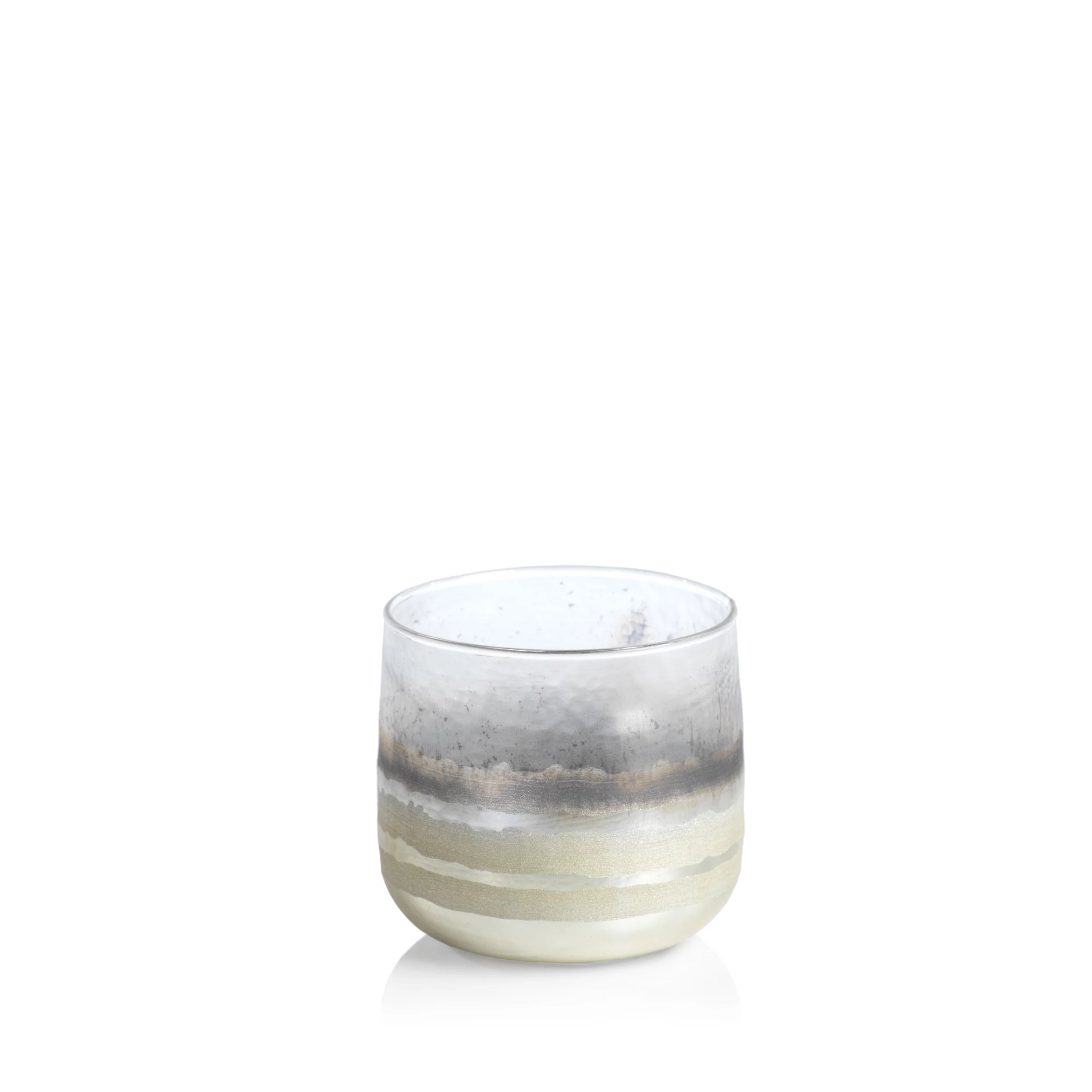White Smoke Votive Holder