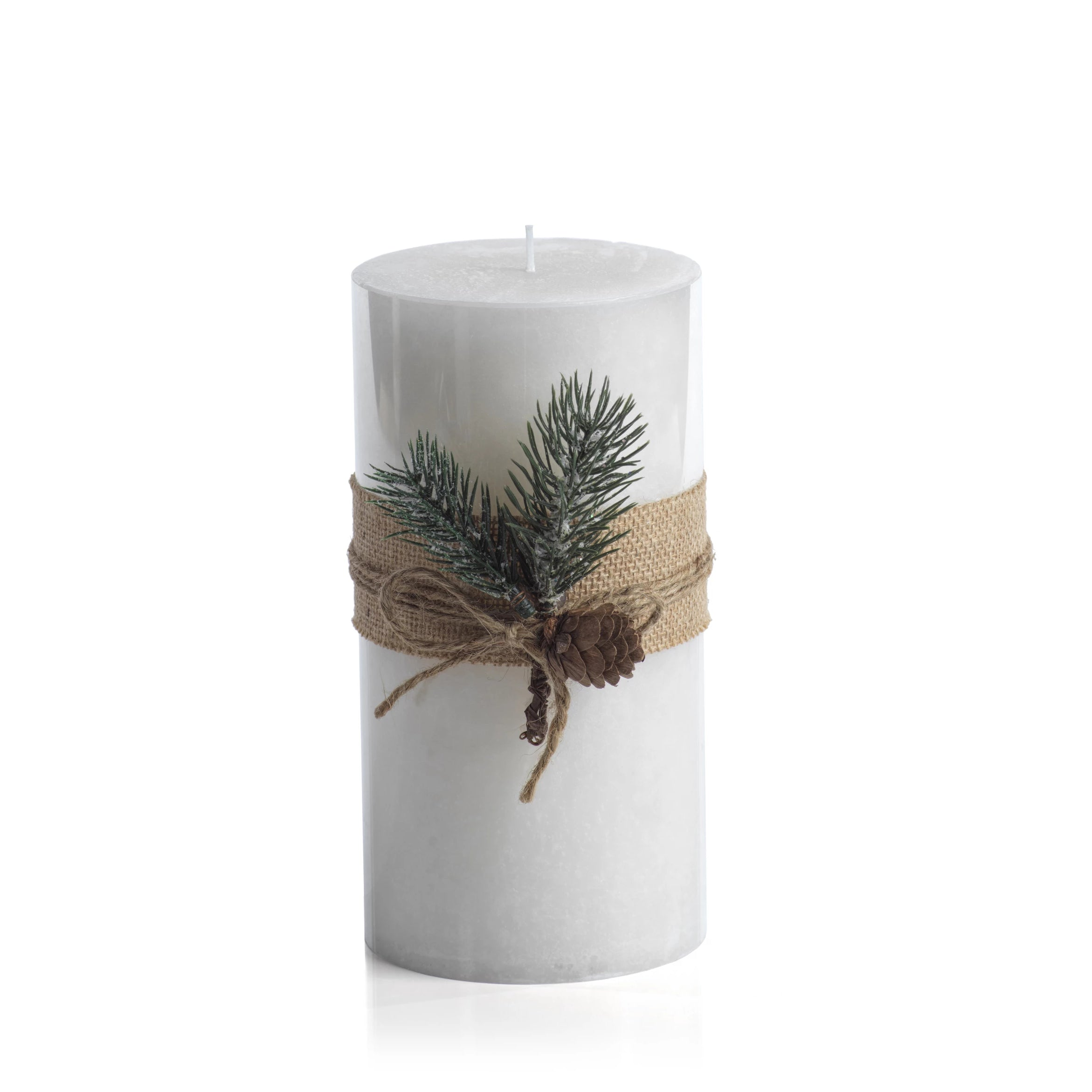 Siberian Fir Fragranced Pillar Candles - CARLYLE AVENUE