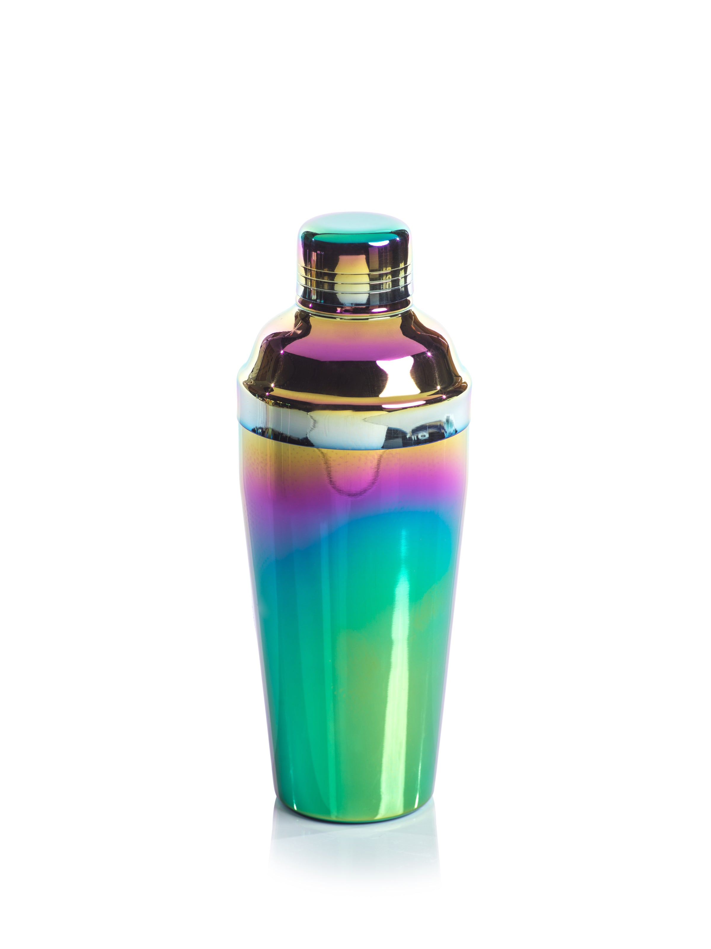 Stainless Steel Rainbow Cocktail Shaker - CARLYLE AVENUE