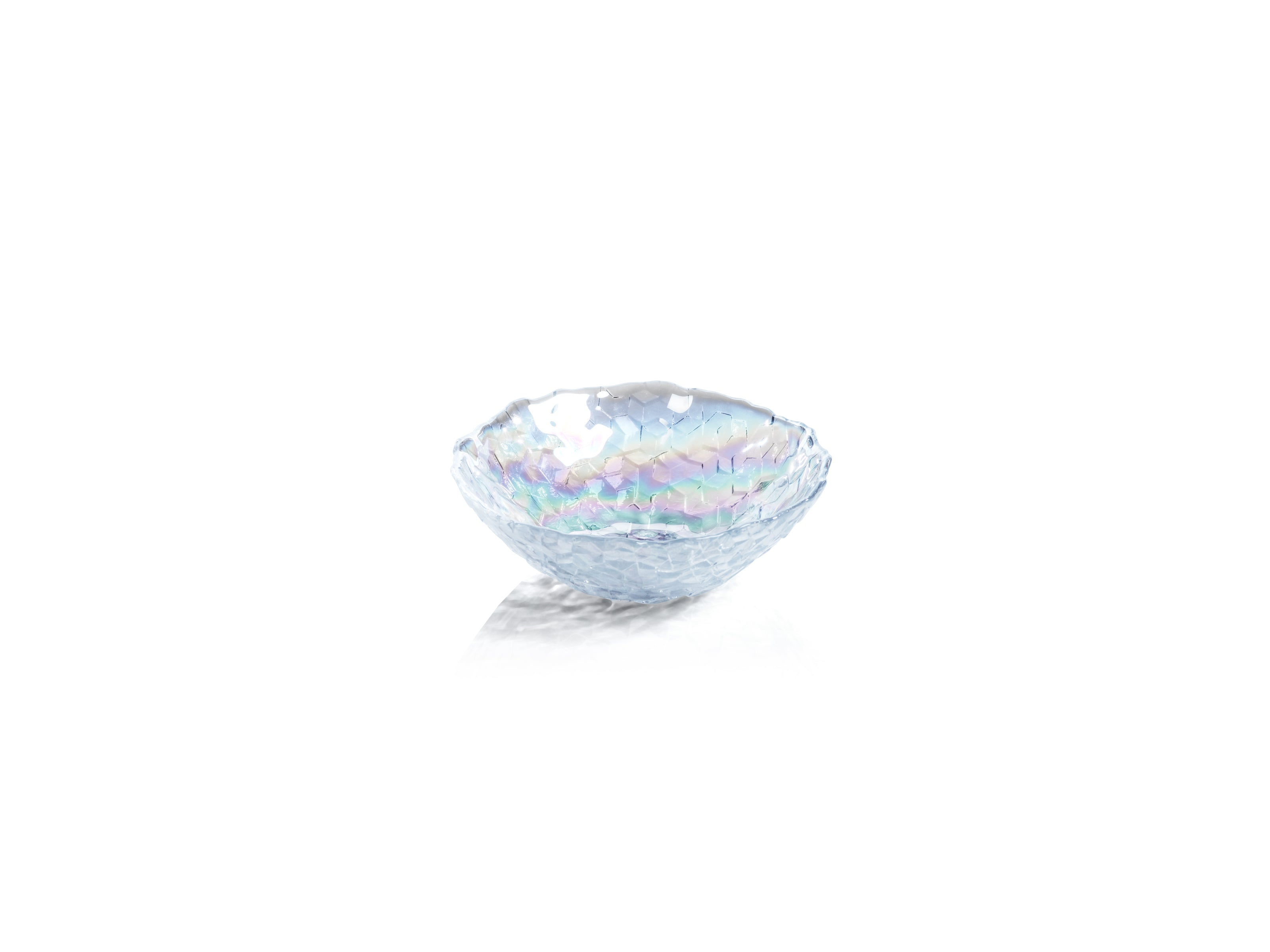 Cubic Iris Luster Bowls - CARLYLE AVENUE